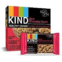KIND Healthy Grains Bars, Dark Chocolate Chunk, Gluten Free, 1.2 oz, 30 Count
