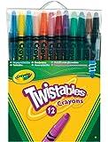Loisir Créatif - 12 Crayons De Couleur Twistable