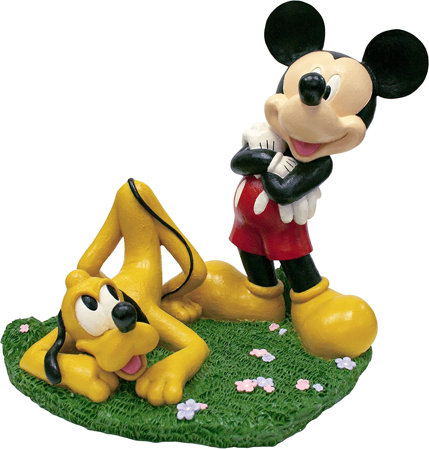 Design International Group LDG88049 Garden Statue, 13 by 12-Inch, Mickey and Pluto 2014