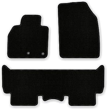 Bär Afc Re03312 Basic Auto Fußmatten Nadelvlies Schwarz Rand Kettelung Schwarz Set 3 Teilig Passgenau Für Modell Siehe Details Auto