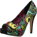 Iron Fist Oh No Peeptoe Platform, Chaussures à talons avec plateau femme