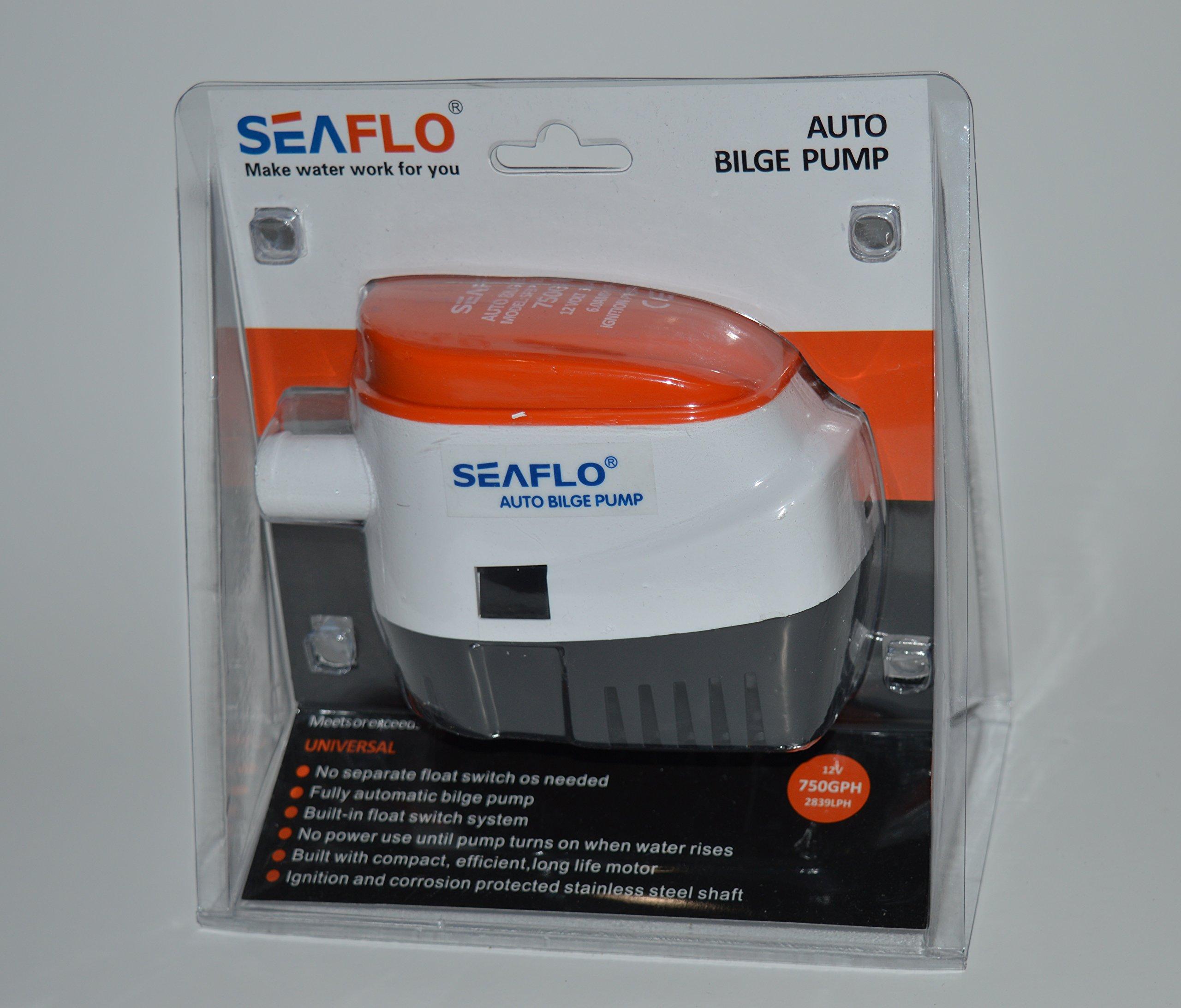 Seaflo 12v 750 GPH Automatic Bilge Pump