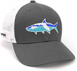 ae4ffdb764c4f RepYourWater Florida Tarpon Mesh Back Hat Gray White