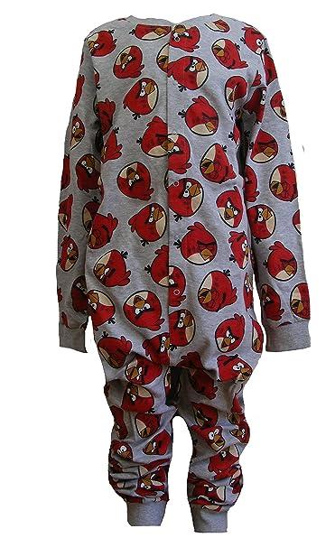Jóvenes adultos Pelele, pijama de todo el cuerpo para adultos, mono somníferos, Onesie, traje, traje de casa, pijama - Angry Birds: Amazon.es: Ropa y ...