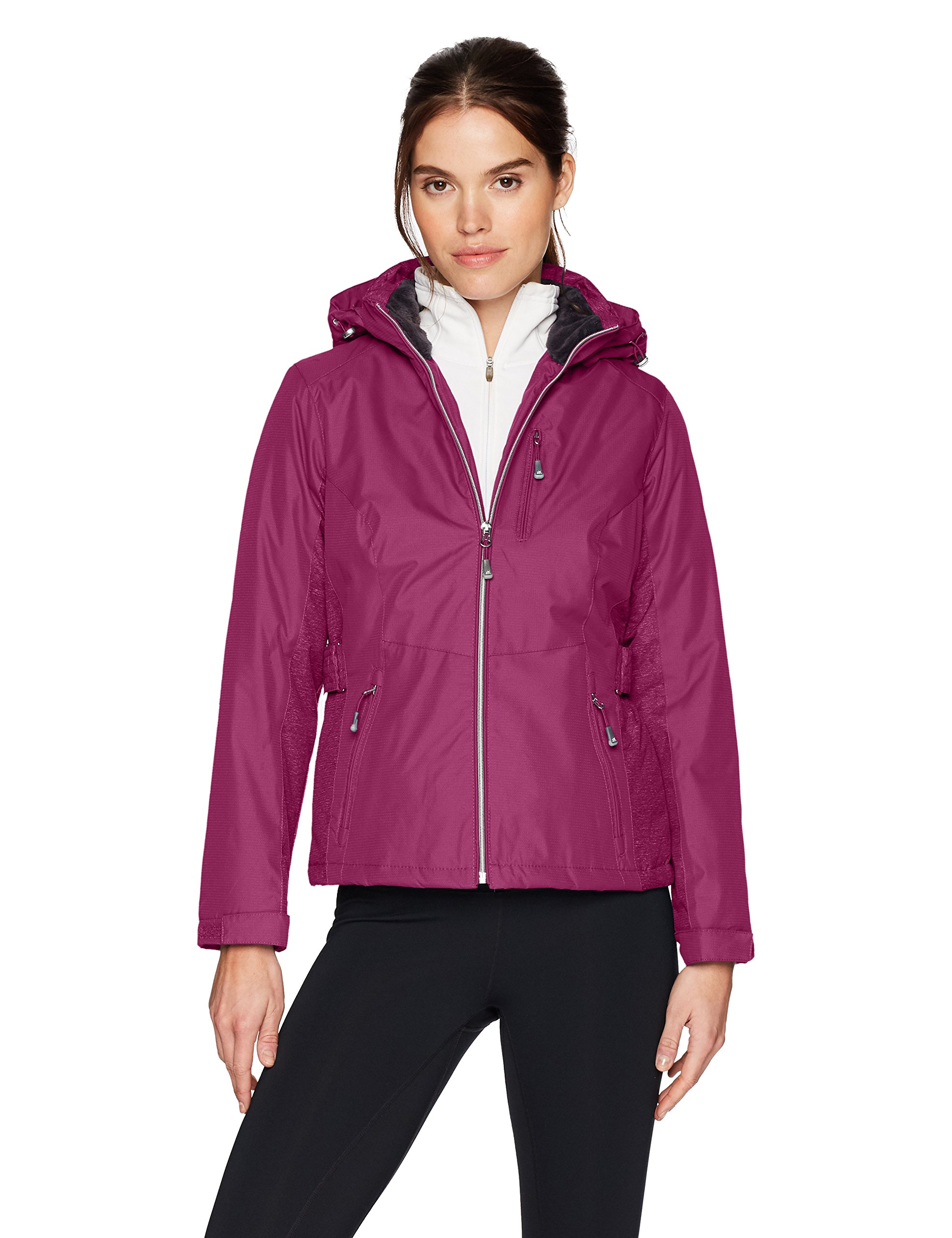 ZeroXposur Women's Aliyah Insulated Jacket, Plum, Petite X-Large