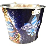 Bud Light Mardi Gras Metal Ice Bucket