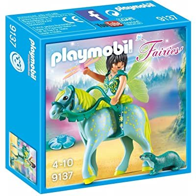 PLAYMOBIL Enchanted Fairy with Horse Toy: Toys & Games