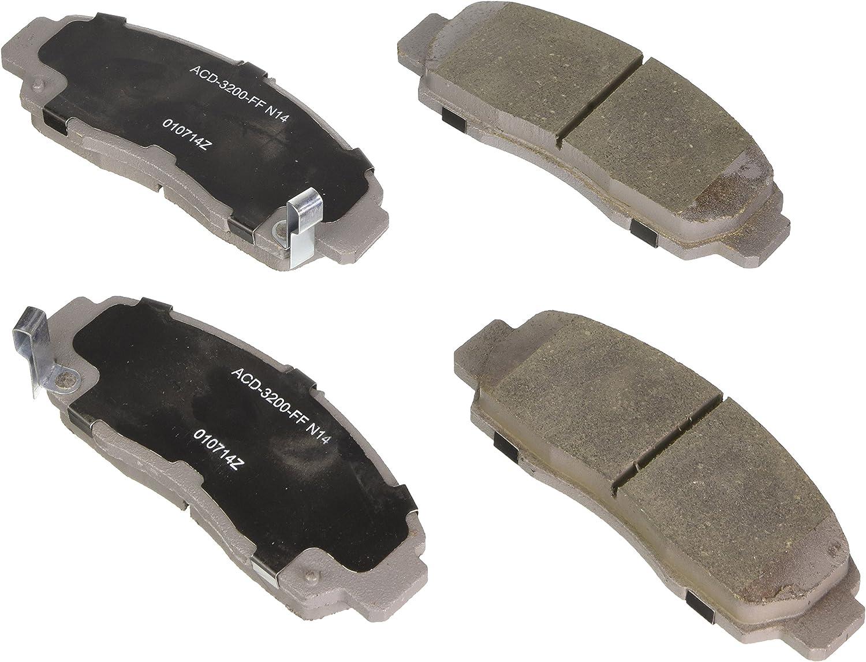 ACDelco 14D598CH Advantage Ceramic Front Disc Brake Pad Set