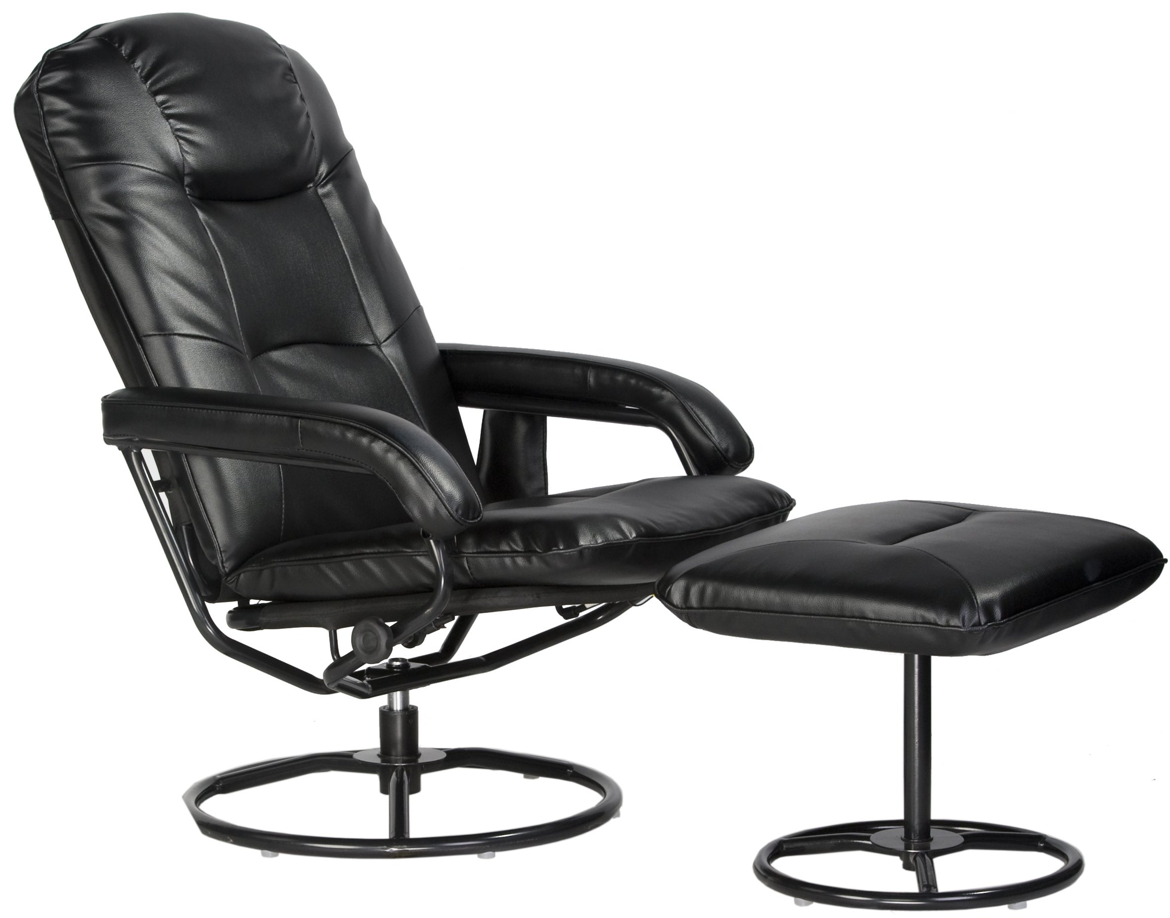 Comfort Products 60-0582 Leisure Recliner Chair with 10-Motor Massage & Heat, Black by Comfort Products (Image #7)