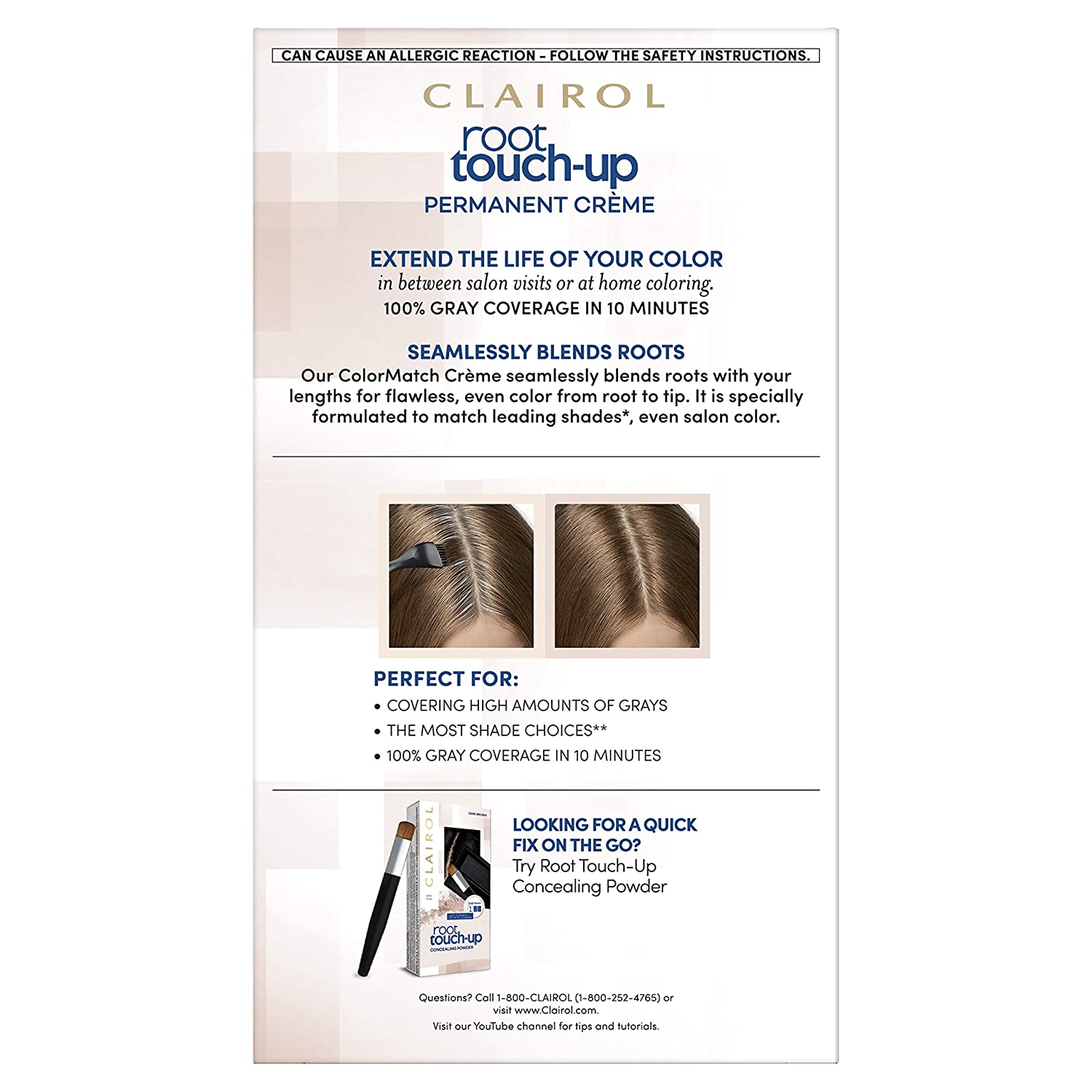 Amazon Clairol Nice N Easy Root Touch Up 6g Kit Pack Of 2