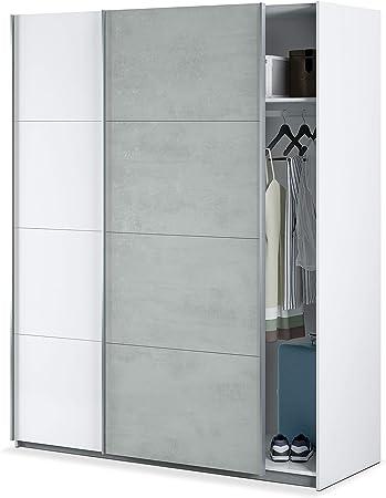 Habitdesign ARM154A - Armario Dormitorio ropero, Armario 2 Puertas ...