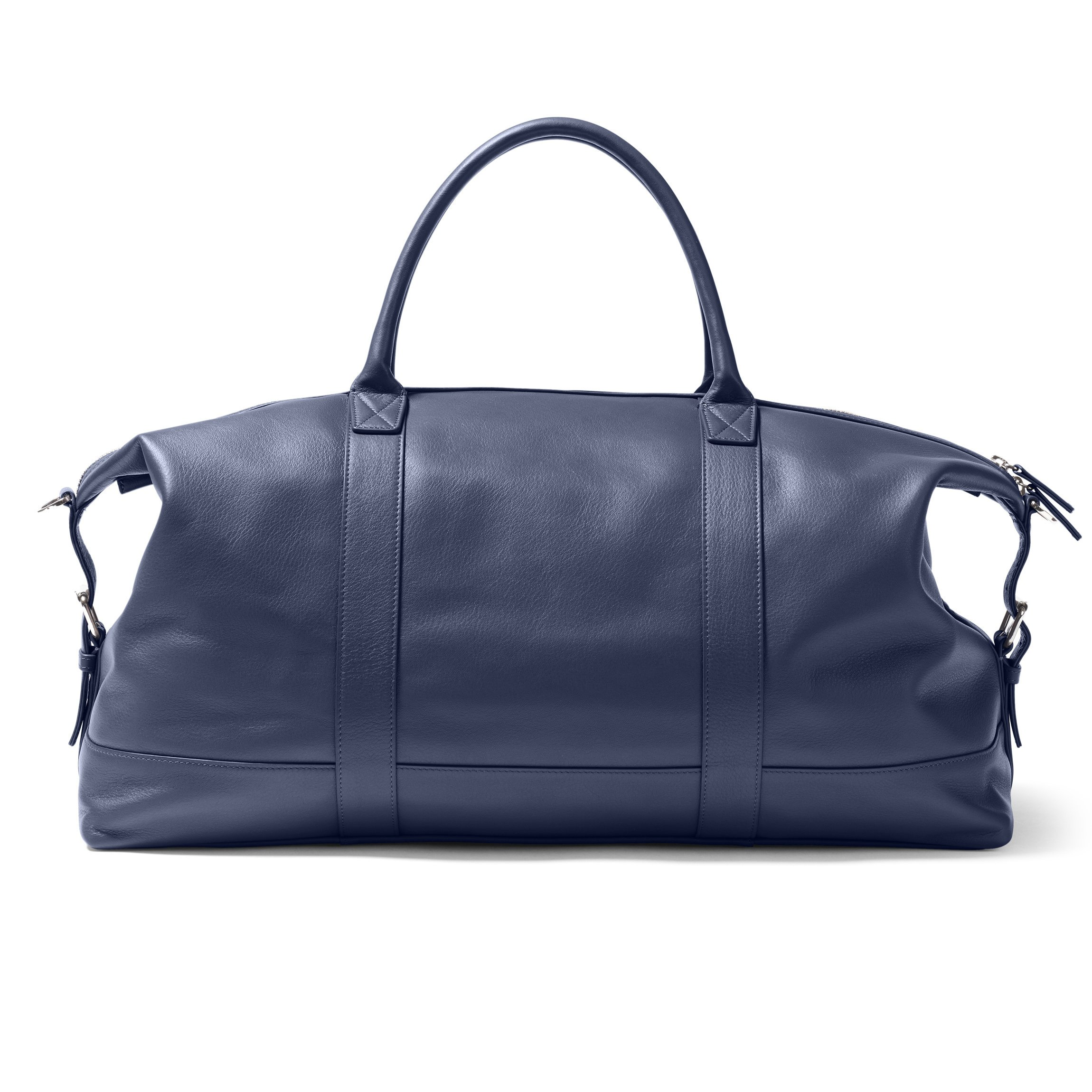 Kessler Medium Duffle - Full Grain Leather Leather - Navy (blue) by Leatherology (Image #6)