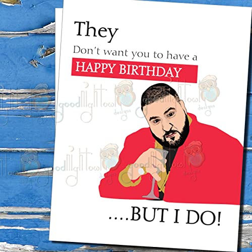 Amazon dj khaled funny happy birthday card they dont want dj khaled funny happy birthday card quotthey dont want you to bookmarktalkfo Image collections