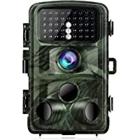 """TOGUARD Trail Camera 14MP 1080P Hunting Camera with Night Vision Motion Activated Wildlife Game Cam 120° Detection with 0.3s Trigger Speed 2.4"""" LCD IR LEDs IP56 Waterproof"""