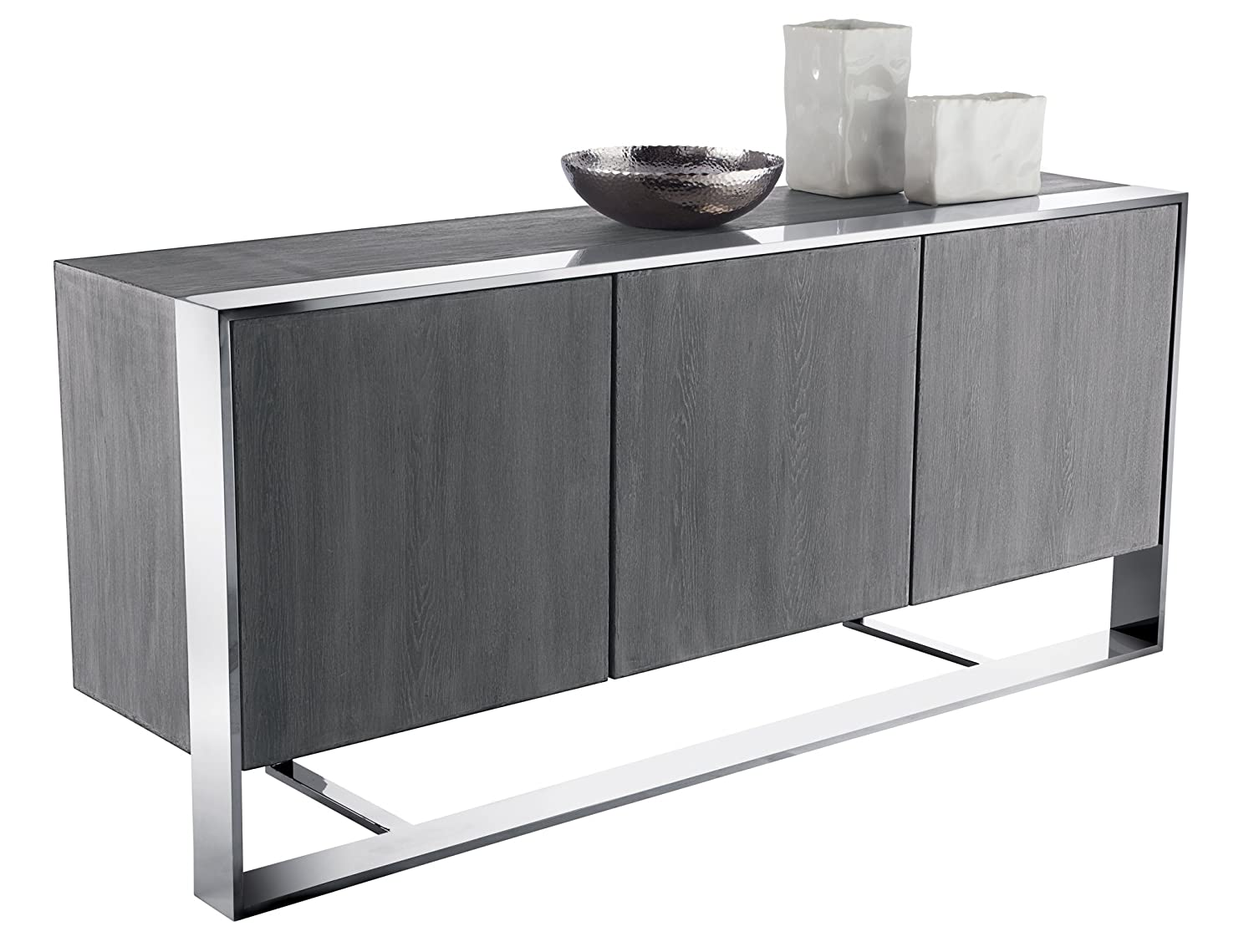Oak Trendy White Desk Concepts Amazon.com - Sunpan Modern 10272 Club Collection Sideboards Stainless Steel  - Buffets u0026 Sideboards