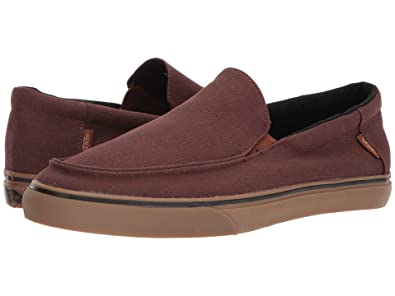 6d53b7d44bacde Vans Bali SF (Heavy Canvas) Shaved Chocolate Slip-ONS (6 D US