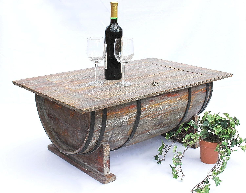 DanDiBo Botte di vino Tavolino da tè per salotto 5084 Tavolo di ...