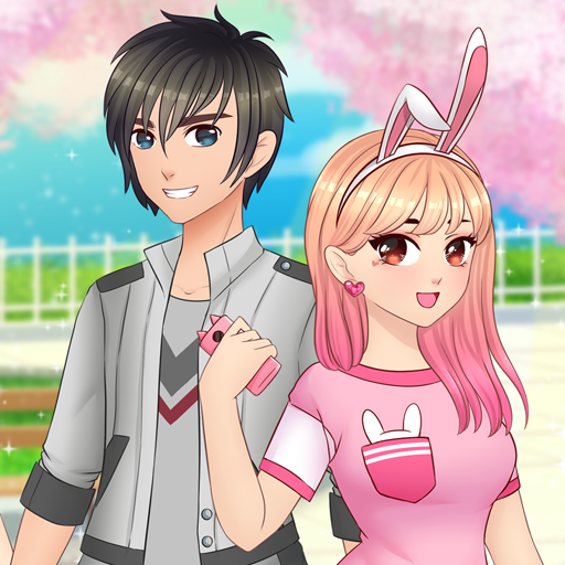 Anime High School Couple - First Date Makeover -