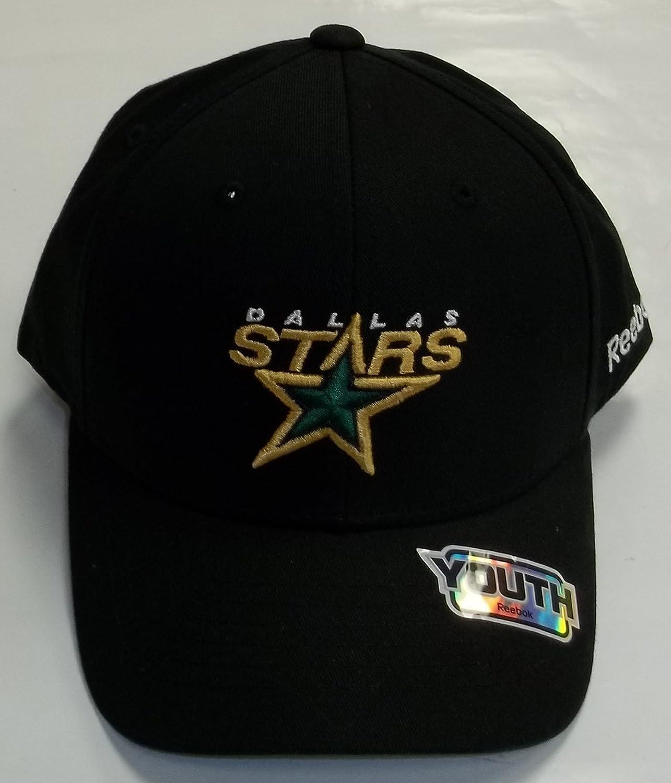Dallas Stars Juventud gorra de Reebok Old Logo n683b: Amazon.es ...