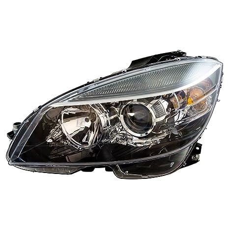 Halogen Headlight Headlamp Driver Side Left LH for Mercedes Benz C Class