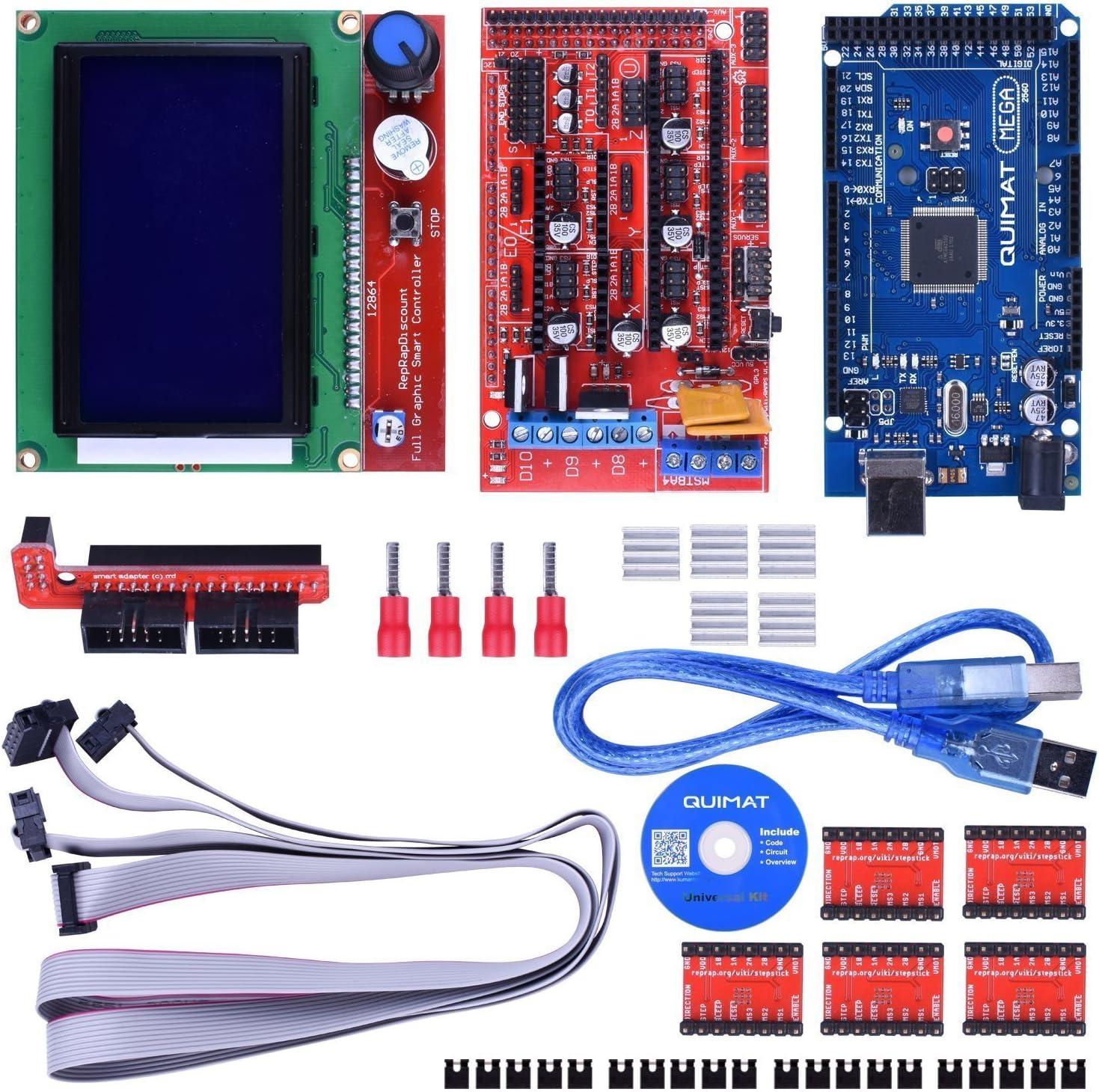 Kit de Impresora 3D para Arduino/Mega 2560 + RAMPS 1.4 + A4988 + ...