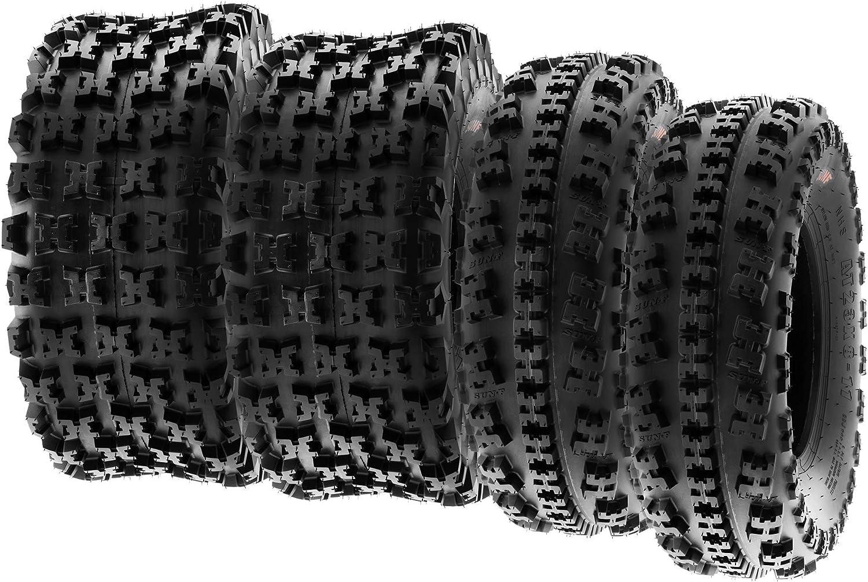 A027 6 PR Tubeless XC Pneumatici sportivi Knobby SunF 20x10-9 20x10x9 ATV UTV Pneumatici