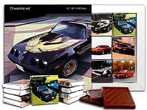 DA CHOCOLATE Candy Souvenir PONTIAC Chocolate Gift Set 5x5in 1 box (Aerography)