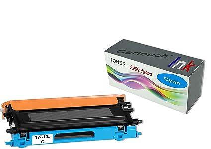 cartouch Ink Toner Compatible TN-135 Cian para impresora ...