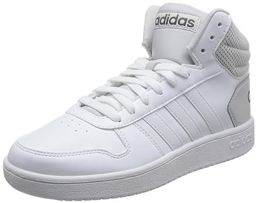 296c861701f4 adidas Vs Hoops Mid 2.0, Scarpe da Basket Uomo, Bianco Ftwwht/Greone, 47  1/3 EU: Amazon.it: Scarpe e borse