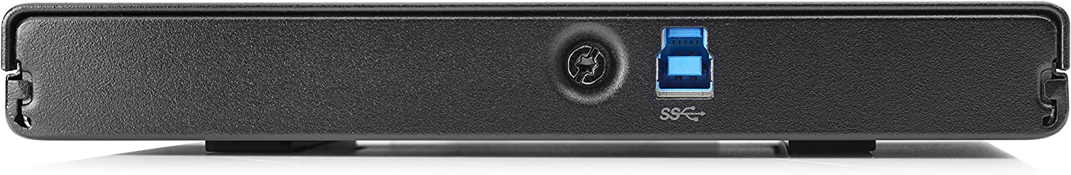 HP DVDRW (R DL) / DVD-RAM Drive - External, Jack Black (K9Q83AT)