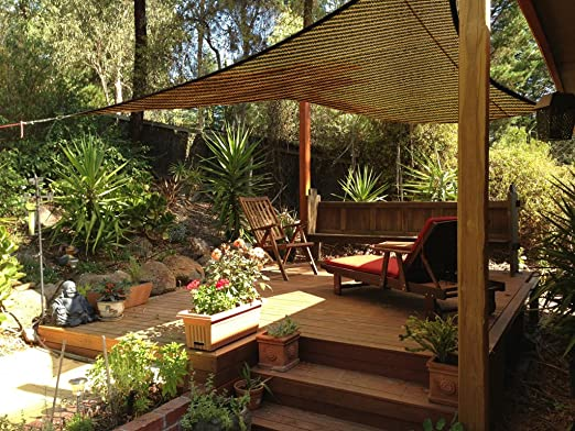 OriginA Panel de sombra de patio para pergola/invernaderos/coche ...