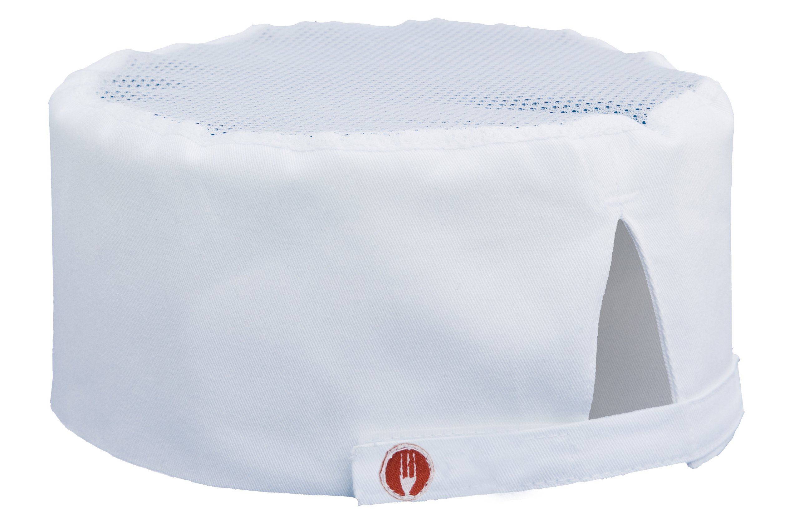 Chef Works Mens Cool Vent Chef Beanie, White, One Size by Chef Works