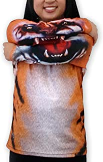 product image for MouthMan Unisex-Adult Tiger Hoodie Shirt