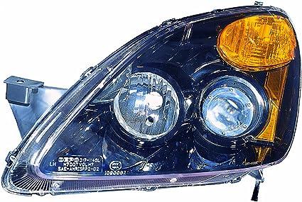 aftermarket CR-V 2002-2005 Chrome Front Headlight Headlamp Pair Left /& Right