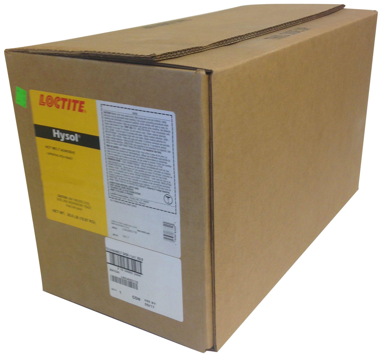 Loctite 416035 Brown 1942 Hysol General Purpose Polyshot Hot Melt Adhesive, 560 oz Carton