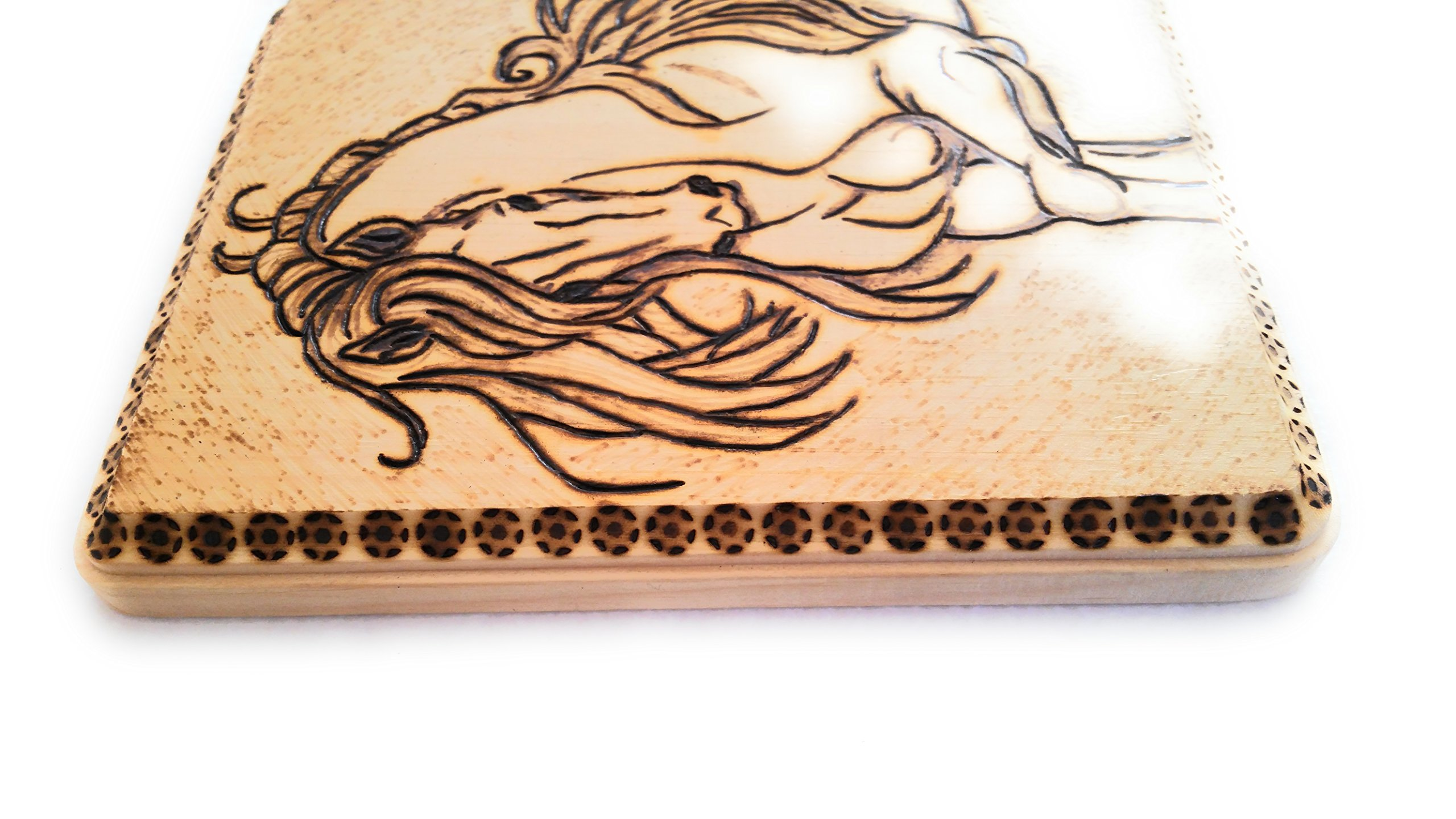 Home Decor Wood Burned Wall Hanging by Cimber's Home Decor+More (Image #3)
