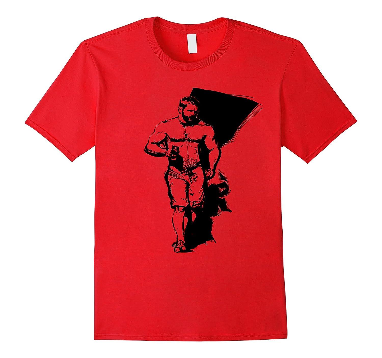 Bear Pride T-Shirt with Stocky Bear Print - Amazing Bear-CD