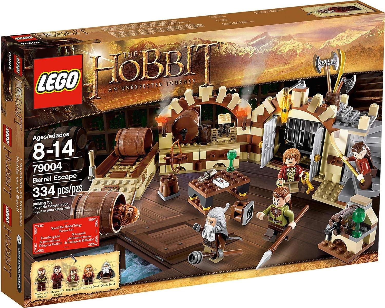 LEGO The Hobbit Barrel Escape 334pieza(s) Juego de construcción ...