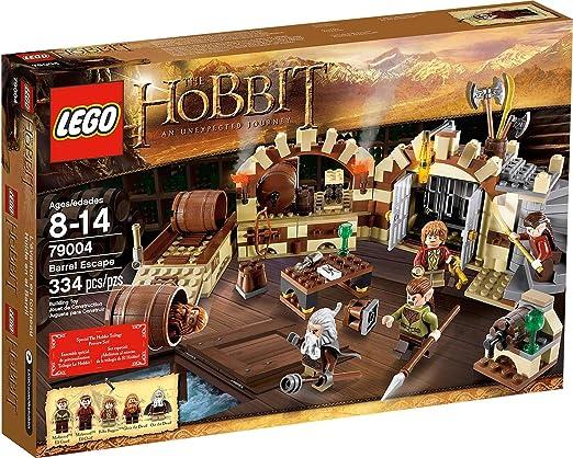 LEGO The Hobbit Barrel Escape 334pieza(s) Juego de construcción - Juegos de construcción (8 año(s), 334 Pieza(s), 14 año(s)): Amazon.es: Juguetes y juegos