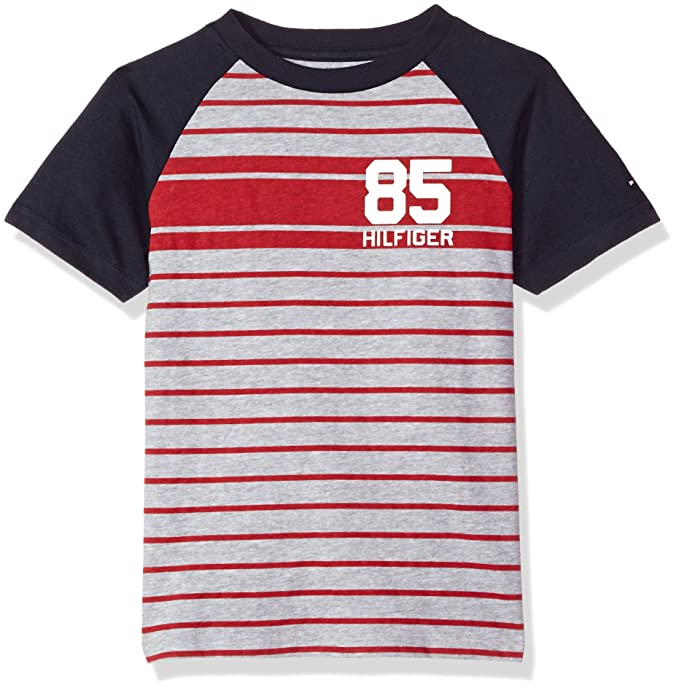 975ff7a94335 Tommy Hilfiger Boys Malcolm Tee  Amazon.ca  Clothing   Accessories