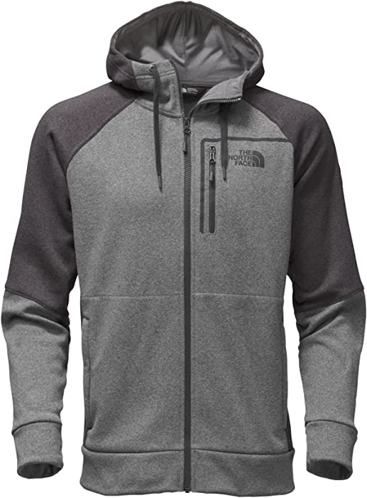 7e637a3f4 Amazon.com: The North Face Men's Mack Eaze Full Zip Hoodie II - TNF ...