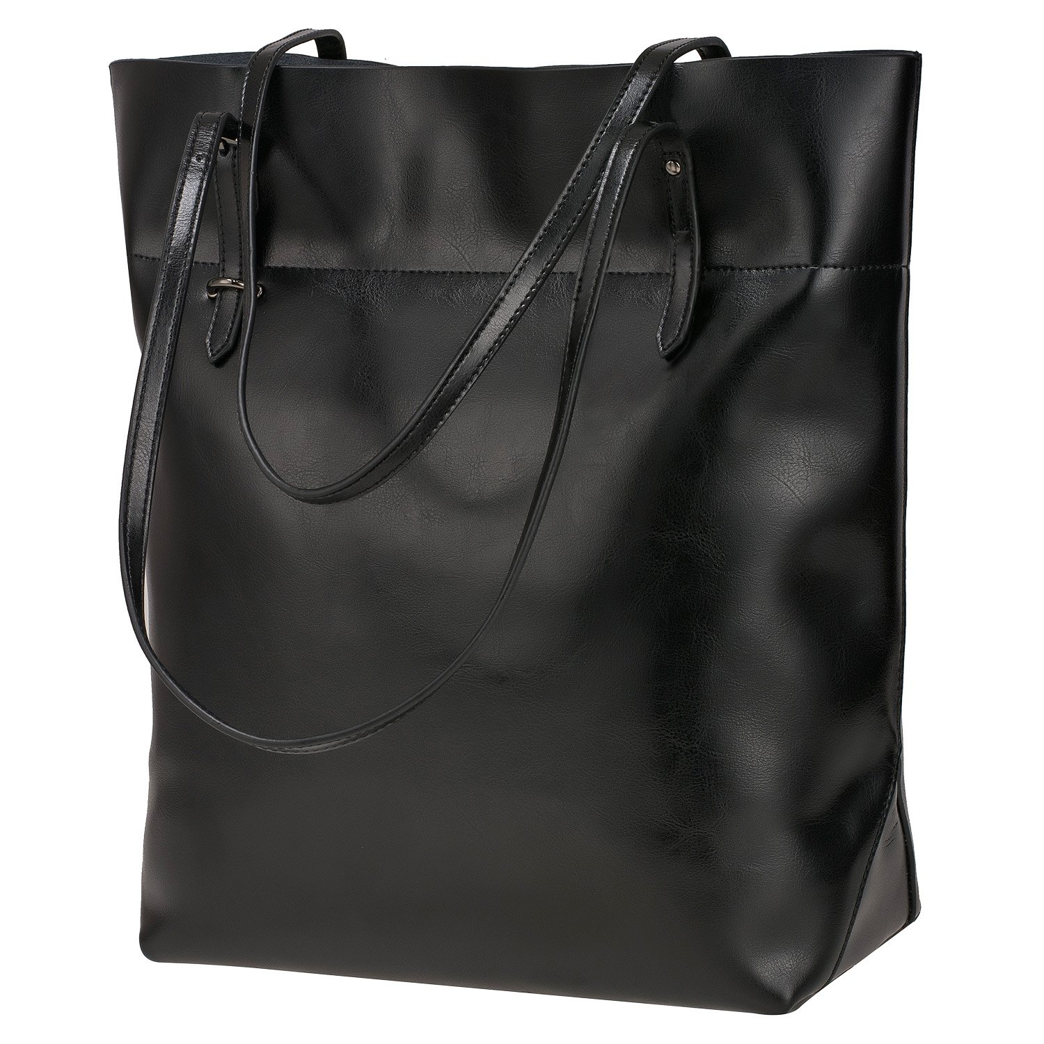 a9ef7519c8e S-ZONE Vintage Genuine Leather Tote Shoulder Bag Handbag Big Large Capacity