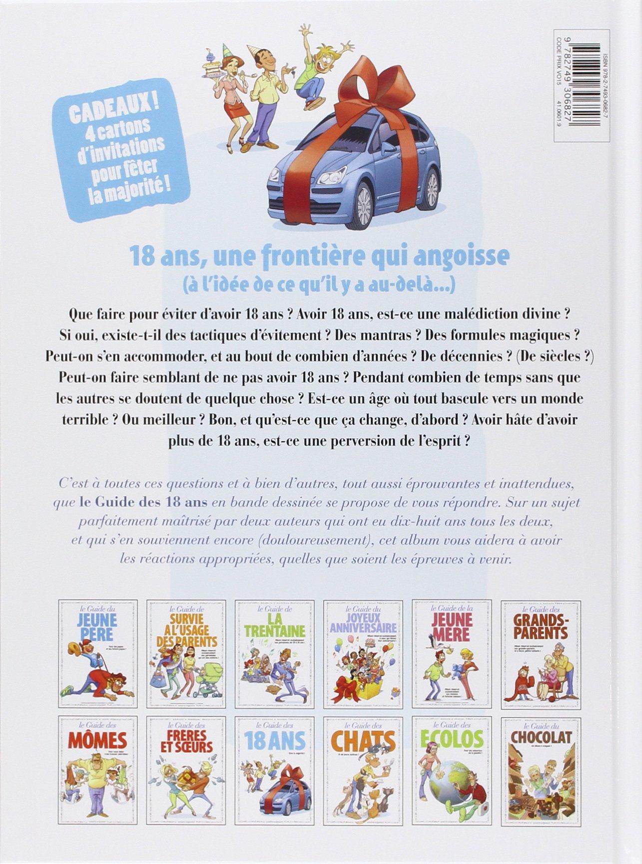 Très Amazon.fr - Les Guides en BD - Tome 39: 18 ans - Christian Godard  GB35