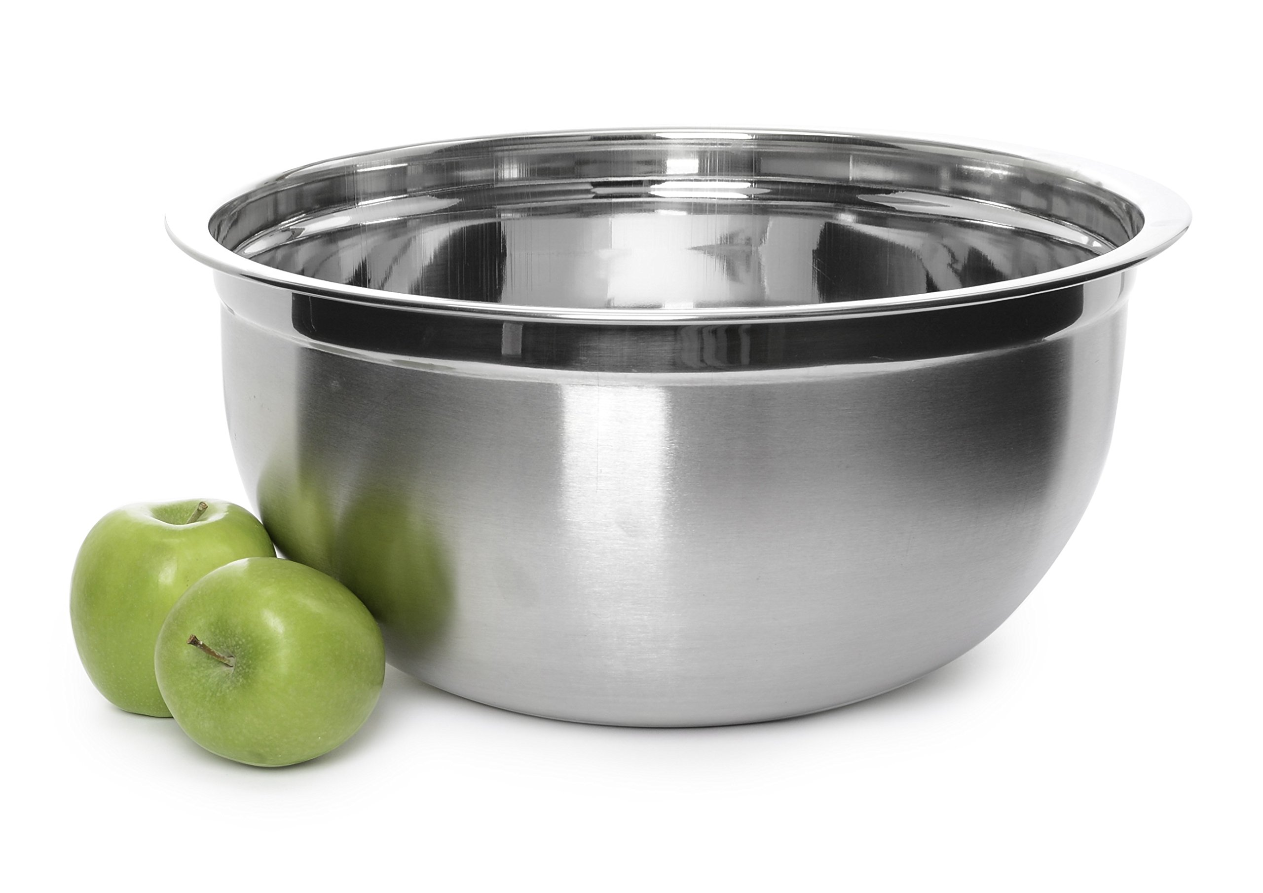 YBMHOME DEEP PROFESSIONAL QUALITY STAINLESS STEEL MIXING BOWL FOR SERVING MIXING BAKING OR COOKING 1192 (1, 16 Quart) by YBM HOME