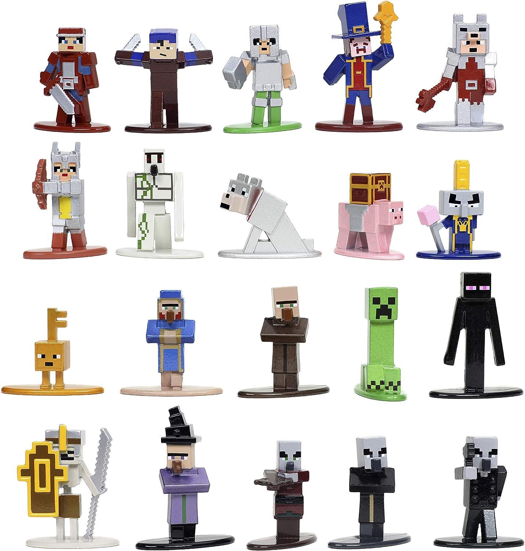 "Amazon.com: Minecraft Dungeons Nano Metalfigs 10.10"" Die-cast"
