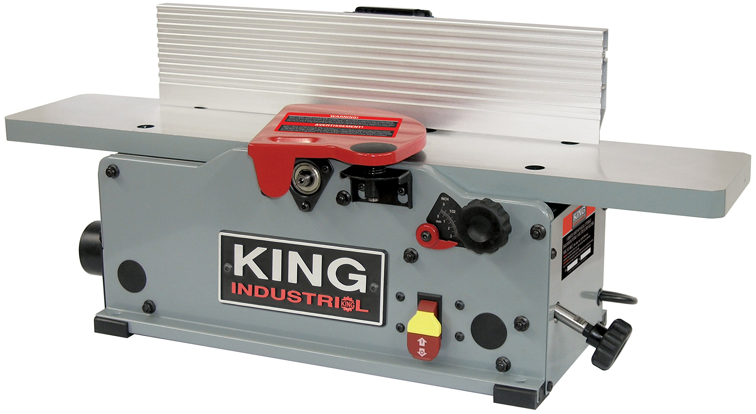 King Canada Kc 6hjc 6 Benchtop Jointer With Helical Cutter