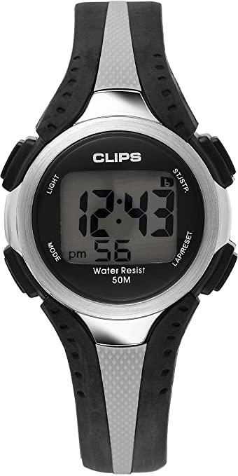 Clips 539-6000-48 - Reloj de Pulsera Hombre, Caucho, Color Multicolor