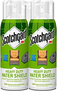 Scotchgard Heavy Duty Water Shield, Repels Water, Two 10.5 Oz Cans (21 Ounces Total)
