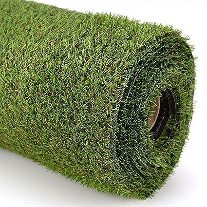 Super India Grass Plastic Mat - 17x 24, Green
