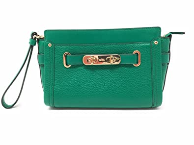d83732bf60325 COACH Swagger Wristlet Crossbody in Pebble Leather 53032  Handbags ...